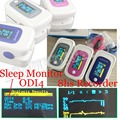 FDA Pulse OximeterSleep Monitor Alarm SPO2 PR Memory Recall 8 Hours Data  PI ODI *Sleep Measure Solid Waveform Blood Oxygen