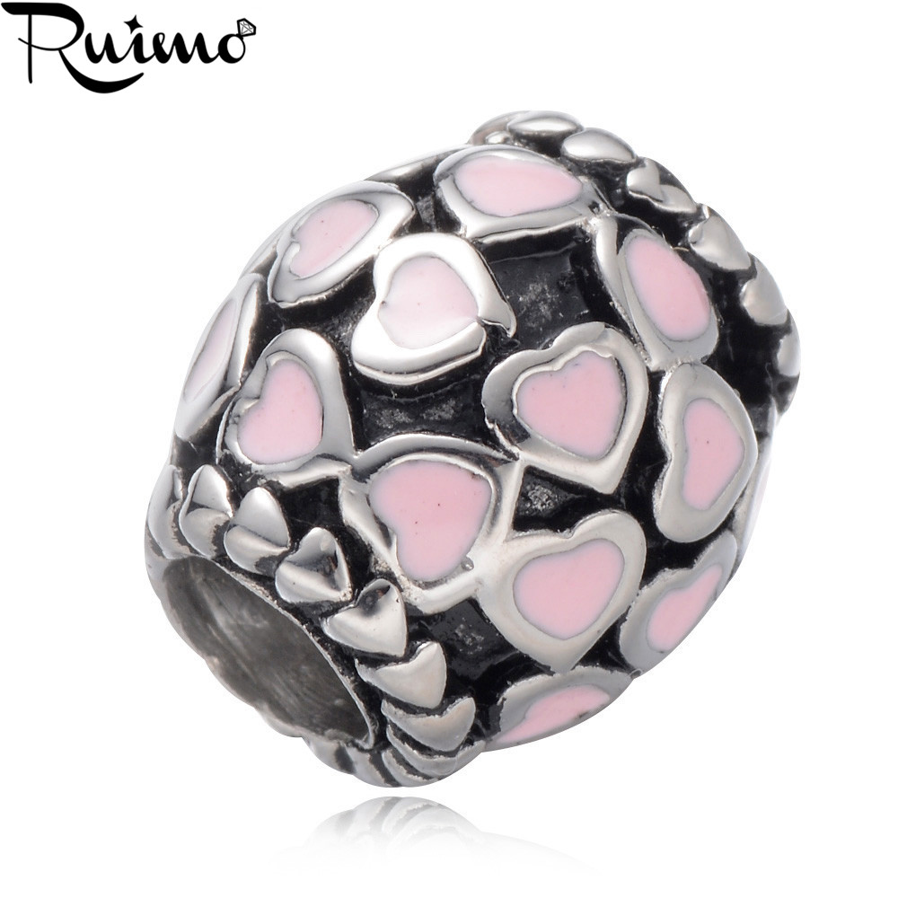 DIY Jewelry Classic /& Original Style Perfect for Bracelets Necklaces St Louis Oval Bead Charm Universal European Slide On Charm