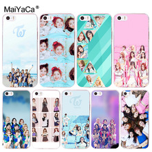 MaiYaCa Twice TT soft tpu phone case cover for Apple iPhone 8 7 6 6S Plus X 5 5S SE 5C 4 4S case funda(China)