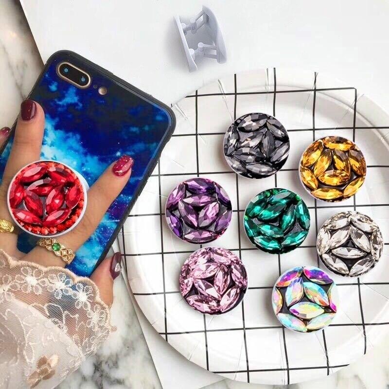 Universal Ring Holder For Phone 3D Bling Diamond Smartphone Holder Phone Finger Grip Phone Stand Cell Phone Holder For Hand