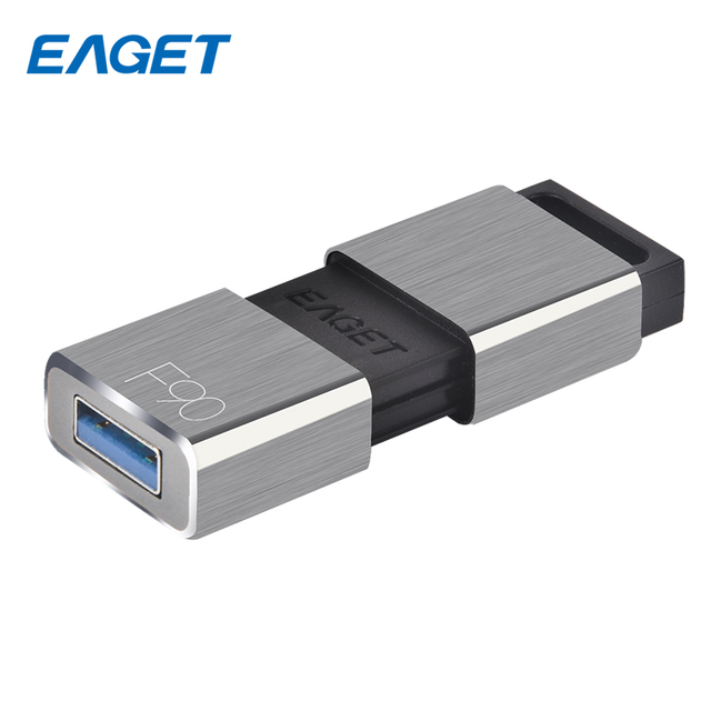 EAGET USB Flash Drive 64GB USB Flash Disk 32GB USB 3.0 Memory Stick Pen Drive 16GB Metal Pendrive External Storage 128GB For PC