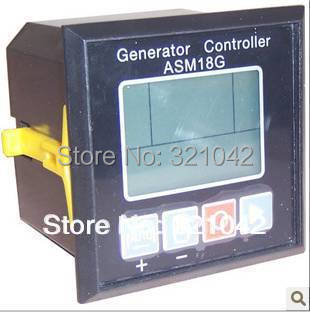 Diesel genset parts ASM18G automatic start power alternator electronic monitor board pannel control module