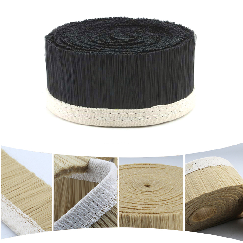 70//100mm Nylon Brush Vacuum Cleaner Engraving Machine Dust Cover For CNC Router