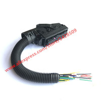 EDC7 Common Rail 89 Pins ECU Connector Auto PC Board Socket With Wiring Harness For Bosch