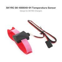 Cabo do verificador da ponta de prova do sensor de temperatura de skyrc com detecção de temperatura para imax b6 b6ac carregador de bateria peças de controle de temperatura
