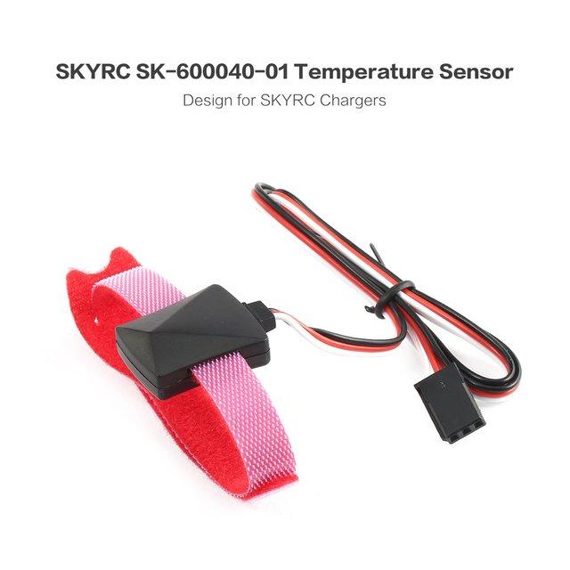 SKYRC sonda czujnika temperatury kabel kontrolny z czujnik temperatury dla iMAX B6 B6AC części kontroli temperatury ładowarki