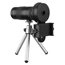 Discount! Hot 10-30x HD Telephoto Monocular Camera Lens with Cell Phone Clip Tripod Stand Night Vision Waterproof Astronomical Telescope