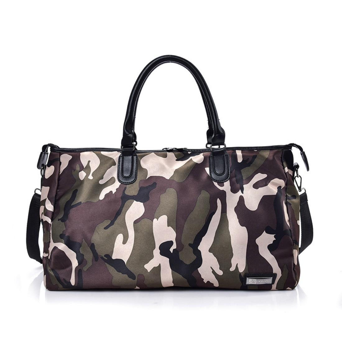 2018 New Camouflage Waterproof Sport Bag Gym Bag Women Men Sport Accessories for Gym Fitness Running Shoulder Bag