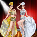 Sexy Women Dance Wear Modern Dance Costume Sexy Jazz Dance DS Stage Performance Costume for Female Singer