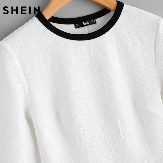 Long Sleeve Peplum Shirt