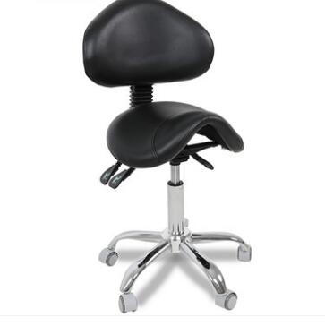 Beauty Salon Swivel Chair Back Bench Tattoo Saddle Chair Beauty Chair Technician Pulley Chair.