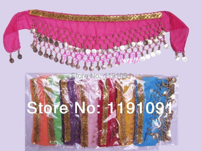 2019 Child Waist Chain Hip Scarf Child Belly Dance Indian Dance Belt