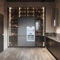 Italien stil aluminium glas tür rahmen für küche schrank tür|Möbelzubehör|Möbel -