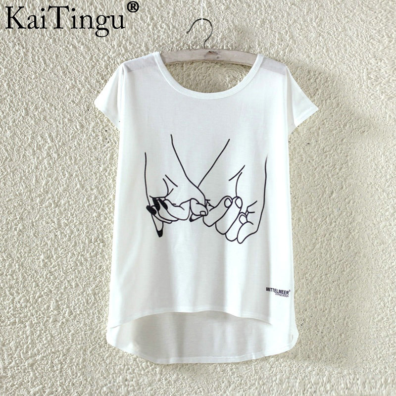 HTB1.JNFPXXXXXbvXXXXq6xXFXXXm - Kawaii Cute T Shirt Harajuku High Low Style Cat Print