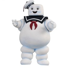 28cm Vintage Ghostbusters 3 Stay Doll Puft Marshmallow Man Bank Sailor Action &Figure Toy Kids Baby Christmas Gifts(China)