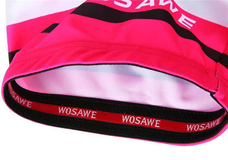 WOSAWE kobiety jazda na rowerze szorty Ciclismo Mtb spodenki bermudy Ciclismo Gel Pad szybkie suche rowerów rower oddychająca Motocross, Fitness, siłownia,