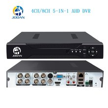 AHD 1080N 4CH 8CH CCTV DVR Mini 5IN1 DVR untuk CCTV Kit Vga HDMI Sistem Keamanan Mini NVR untuk 1080P IP Camera ONVIF DVR PTZ H.264(China)