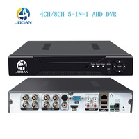 AHD 1080N 4CH 8CH CCTV DVR Mini 5IN1 DVR For CCTV Kit VGA HDMI Security System Mini NVR For 1080P IP Camera Onvif DVR PTZ H.264