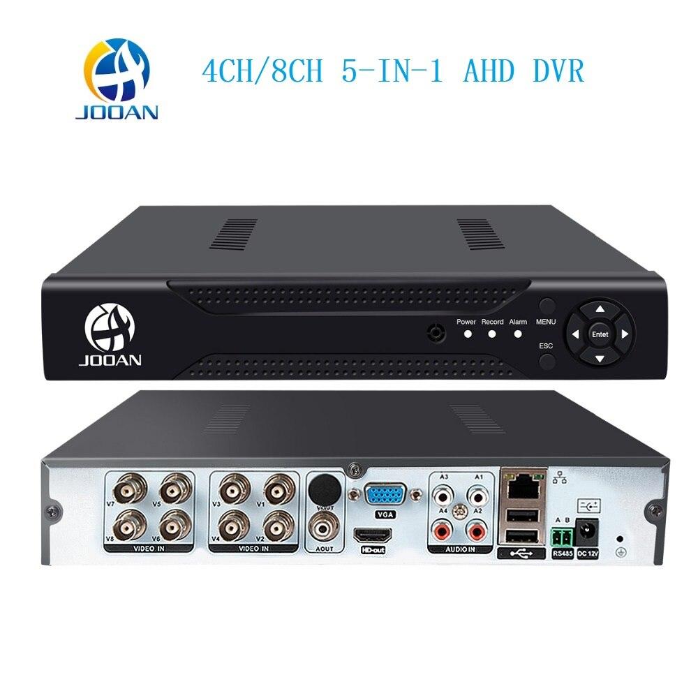 AHD 1080N 4CH 8CH CCTV DVR Mini 5IN1 DVR For CCTV Kit VGA HDMI Security System Mini NVR For 1080P IP Camera Onvif DVR PTZ H.264