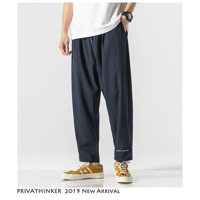 Privathinker Casual Streetwear Pant 2020 Summer Mens Sweatpants Comfortable Loose Pants New Fashion Clothe 21