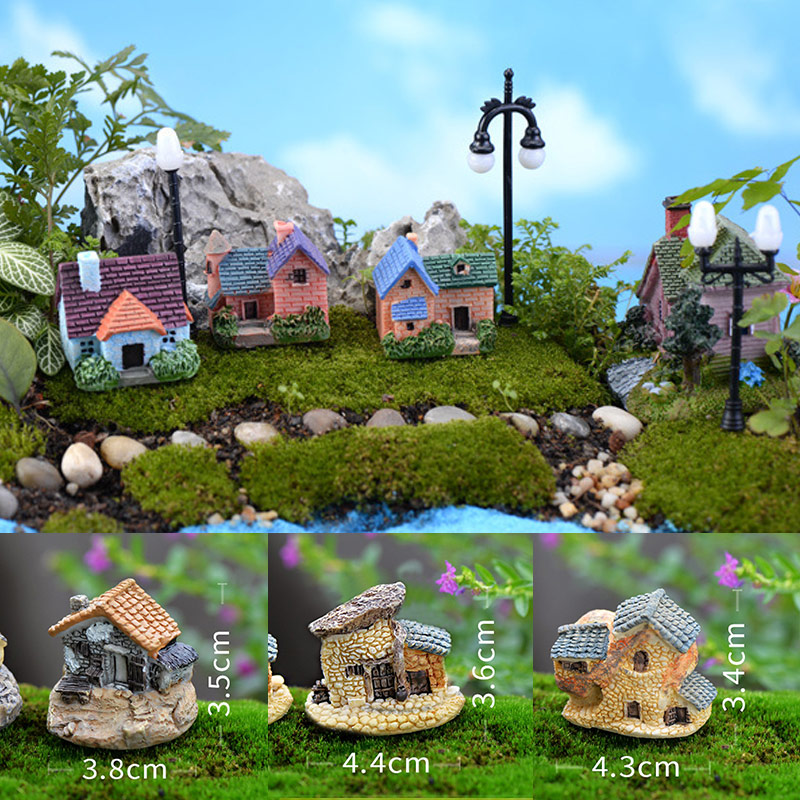 Vintage Garden Decoration Micro Landscaping Popular Artificial House Hot Sale Home Decoration Mini 1PC Craft Miniature