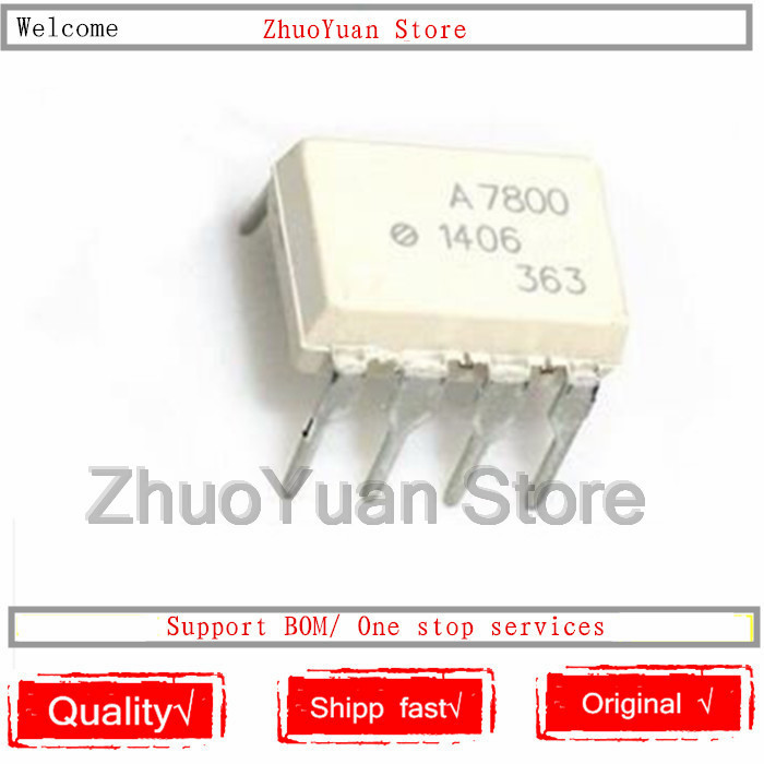 1PCS/lot New Original HCPL-7800 A7800 DIP-8 HCPL7800 IC Chip