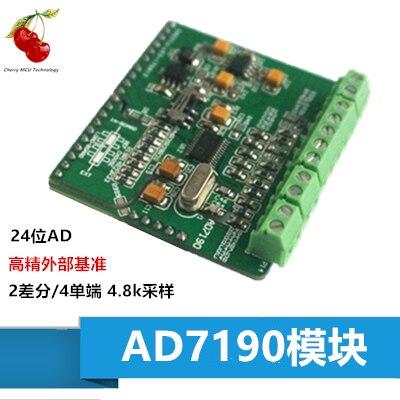 Module AD7190 AD7190 Module AD 24 bits carte d'acquisition de données d'acquisition ADC de haute précision