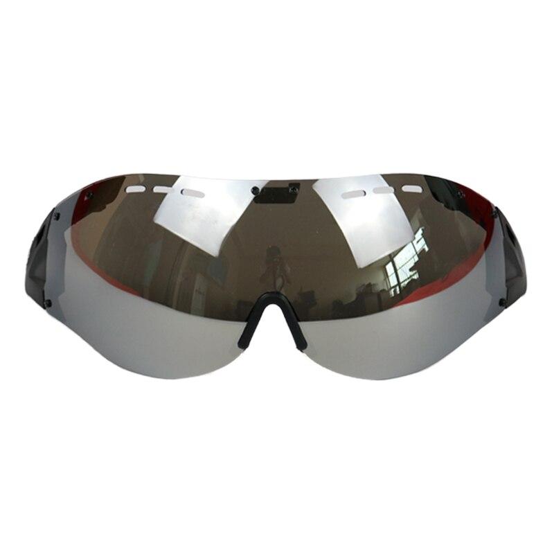 Brille Fahrrad Radfahren Helm Brille oder Gläser Casco Ciclismo Gafas Aufhellung Objektiv