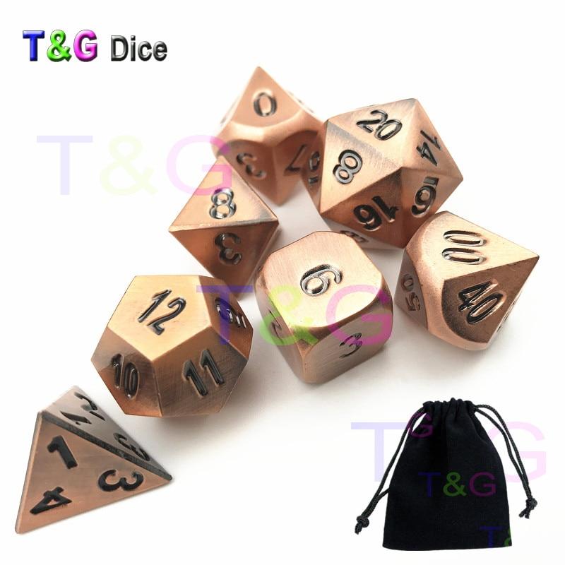 Горячие T & G металла, кости плюс черный кости сумка для ролевая игра/развлечения/как Вечерние подарок