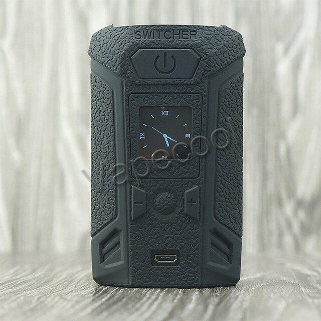 Vaporesso スイッチャーシリコーンカバーケースステッカーとシリコーンスキンスリーブラップため吸うスイッチャー 220 ワットボックス mod で 9 色