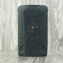 Vaporesso Switcher Silicone cover case Sticker and Silicone skin sleeve wrap for Vape Switcher 220W Box mod Shield with 9 color