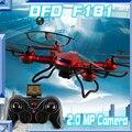 JJRC H12C Dron DFD F181 Drones Con Cámara HD 4CH Quadrocopter 2.4G Control Remoto Helicoptero