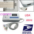 CE ,FDA CONTEC ECG100G Single Channel 12-Lead Portable ECG Machine