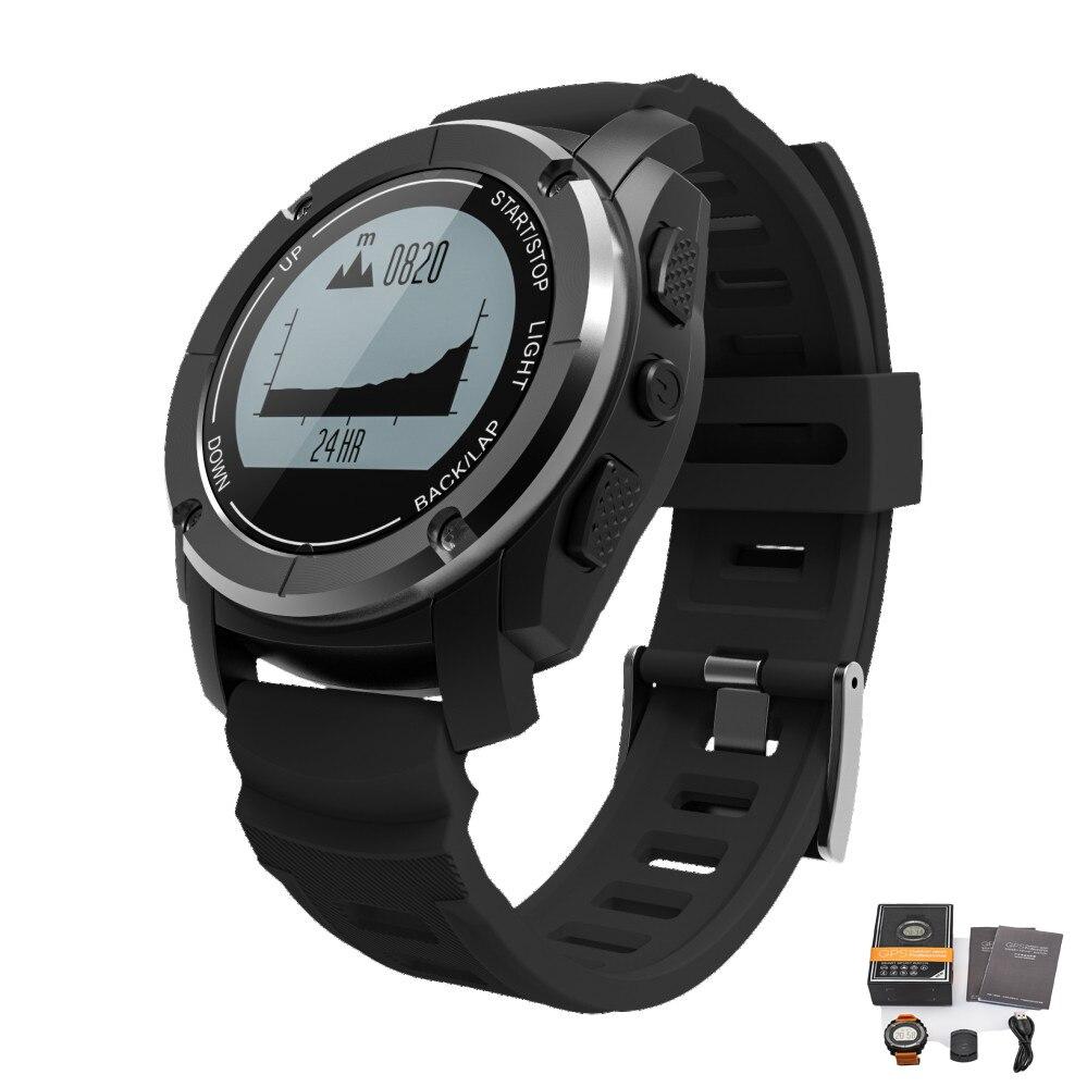 Sport S928 hommes montre intelligente GPS montre Fitness Tracker bande fréquence cardiaque Tracker passomètre IP68 étanche montres montre Android
