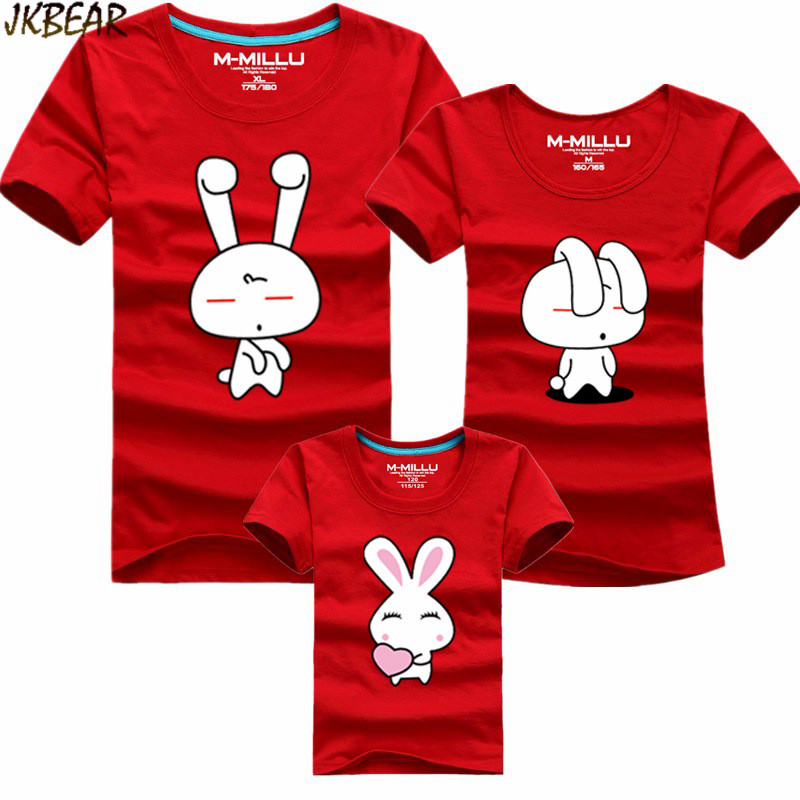 29e657d98 Mother's Day Gift Lovely Family Matching Easter T Shirts Funny Bunny Print  Casual Cotton Tee Short Sleeve O Neck Plus Size S 4XL-in T-Shirts from  Women's ...