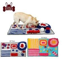 Pet Mat Interactive Dog Snuffle Slow Feeding Cat Food Mats Nosework Activity Training Blanket