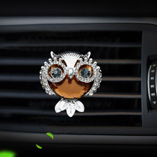 Owl Style car air freshener perfume bottle diffuser  in the auto Air conditioner outlet vent Perfume clip