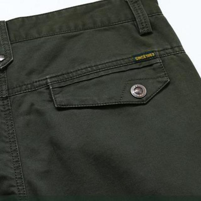 Brand Big Size 30 – 42 Cotton Pants Casual  Men Clothing Military Army Green Men's Joggers