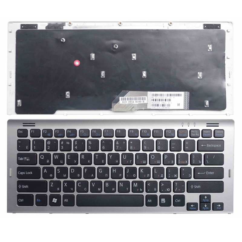 RU Black New FOR SONY SR38/J SR38/Q SR45H/P SR48J/J SR48J/B SR55E/B SR55E/N SR55E SR49D/J SR49D/Q Laptop Keyboard Russian