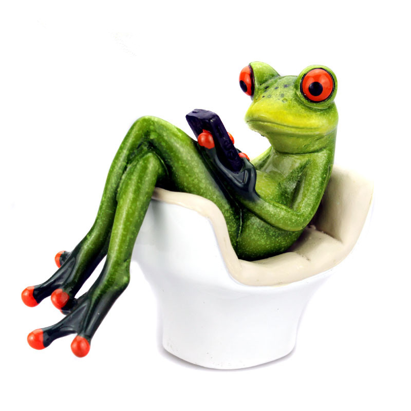 Home Decoration Accessorie Resin Craft Frog Statue Sculpture Resin Frog Statue Creative Home Ornaments Statue Bar DecorHome Decoration Accessorie Resin Craft Frog Statue Sculpture Resin Frog Statue Creative Home Ornaments Statue Bar Decor