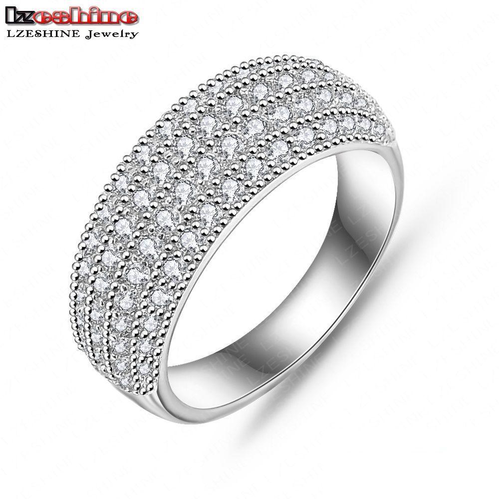 Modeschmuck ringe silber  Online Kaufen Großhandel silber ewigkeit ring aus China silber ...