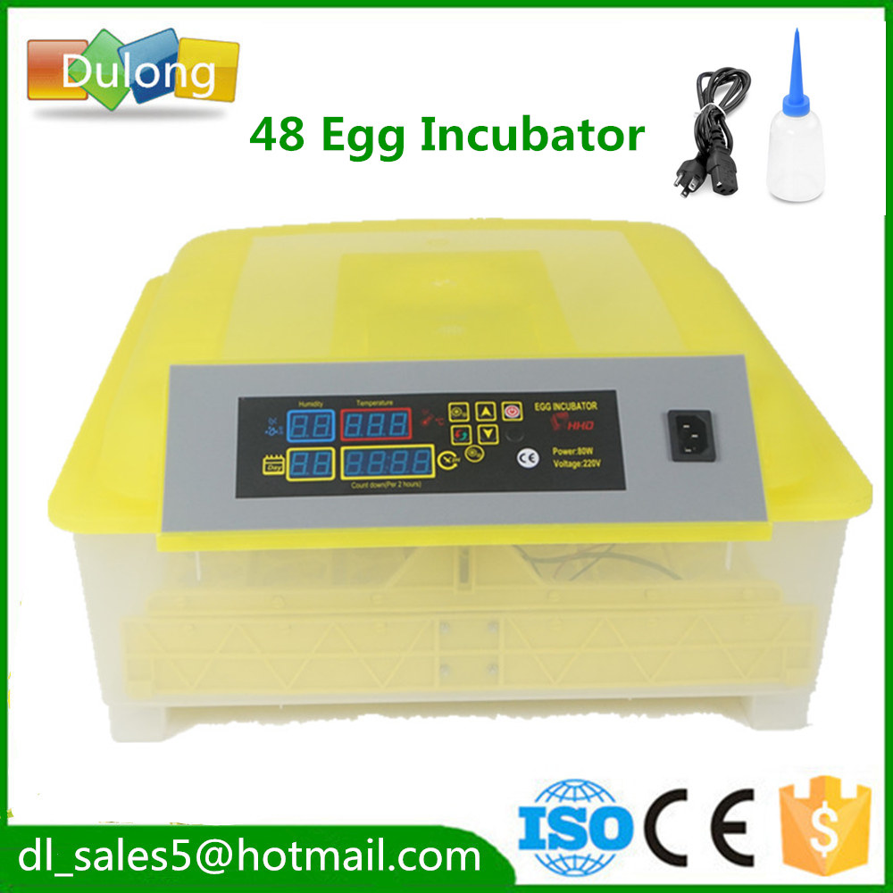 48 Eggs Home Mini  Incubators Automatic  Brooder Machine Quail Digital  Poultry Duck Bird  Chicken тонер картридж для лазерных аппаратов oki мс860 10k yellow 44059225 44059209
