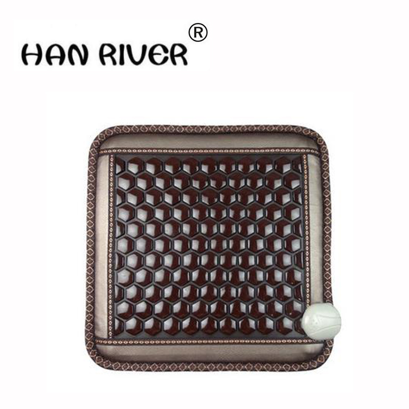 Authentic jade germanium Shi Xiuyu office electric heating health care keeping in good health cushion MATSAuthentic jade germanium Shi Xiuyu office electric heating health care keeping in good health cushion MATS