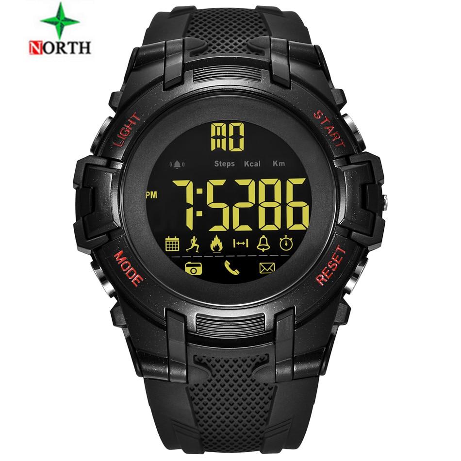 North Luxury Brand Smart watch Fashion Men Sport Watches Chrono Countdown Mens Waterproof Digital Watch man Clock Relojes Hombre
