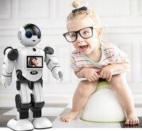 Детский партнер сопровождать гуманоид программируемый робот умный домашний охранник управление робот