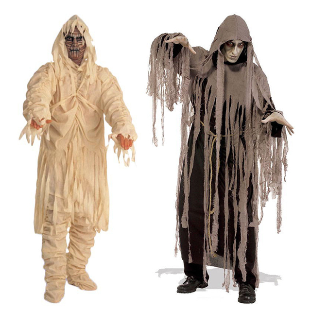 Halloween Cosplay Ghost Costumes for Adults Masquerade Show Zombie u0026 Mummy Clothes Horror Devil Ghost Ghoul  sc 1 st  AliExpress.com & Halloween Cosplay Ghost Costumes for Adults Masquerade Show Zombie ...