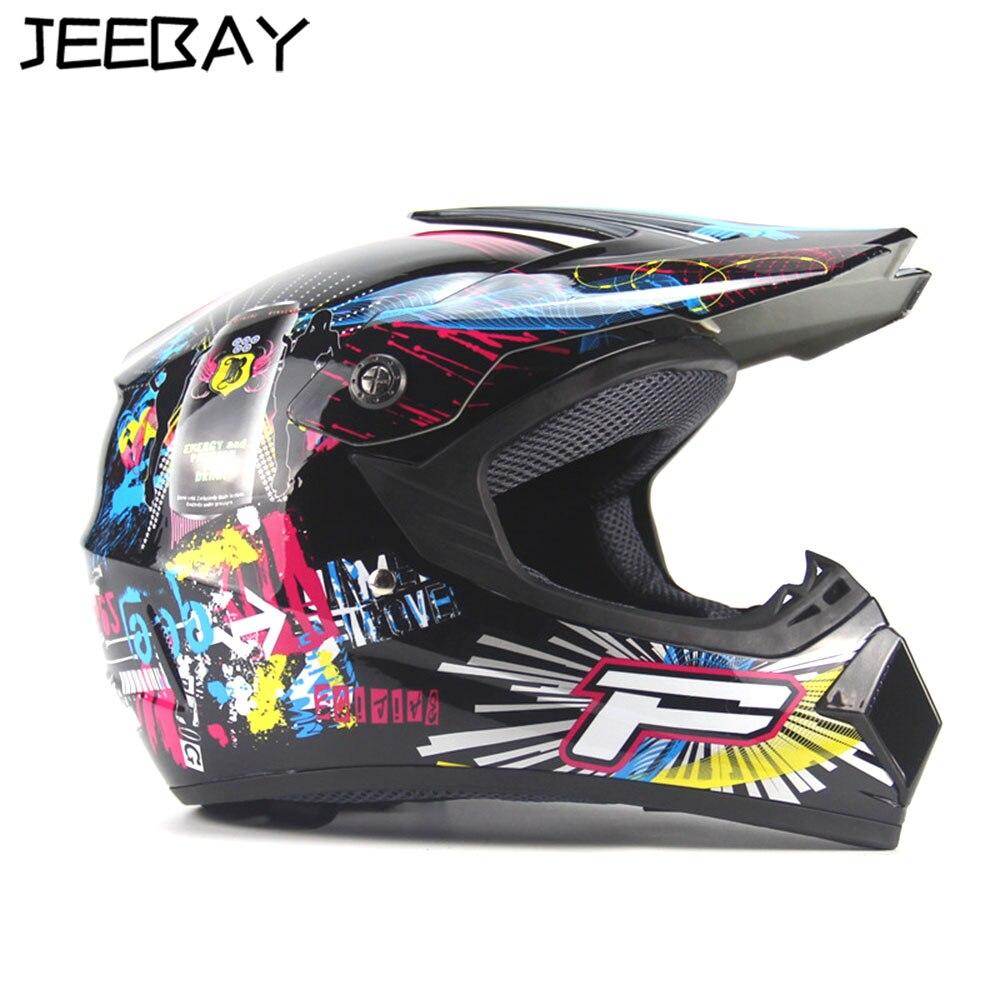 JEEBAY pour racing casque intégral moto rcycle casque moto cross touring kask casco de moto capacete DOT approuvé K3 k5