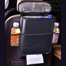 Car Seat Back Cover Storage Bag Organizer Multi Convenient Holder Pocket Organizer Bag Interior Accessories Stowing Tidying недорого