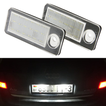 Для Audi Canbus светодиодный поворотника номерной знак ксеноновая лампа белый для A6 C5 4B Avant/Wagon 1998-2005 RS6 плюс 2003-2005 2 шт