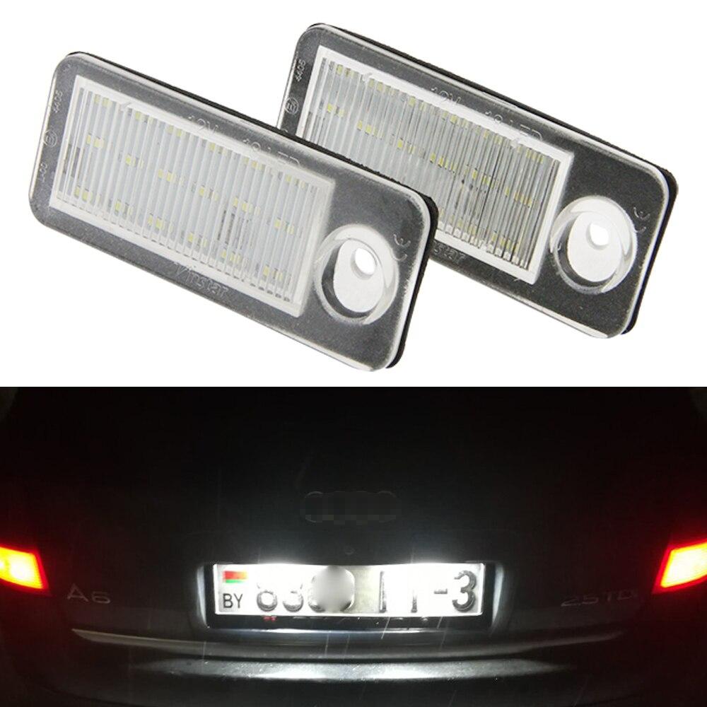 SMD DEL plaque d/'immatriculation éclairage VW passat b6 Skoda FABI plaque d/'immatriculation